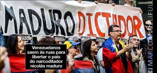 """Fuerza"" Venezuela contra o narco ditador Nicolas Maduro"