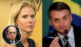 Bolsonaro põe na rua a ex-mulher de Gilmar