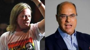 """Em defesa da bandidagem, Gleisi ataca Witzel: """"Esse governador deveria estar na cadeia"""""""