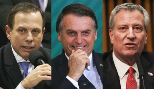 Em viagem aos EUA, Doria critica insultos de prefeito de NY a Bolsonaro