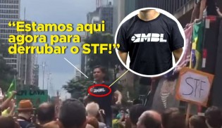 Vídeo desmente e desmascara narrativa do MBL (Veja o Vídeo)