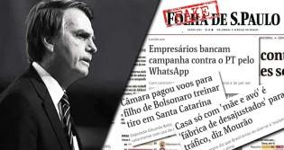 """Evento da OAB tenta """"fritar"""" Bolsonaro e usa como exemplo """"Fake News"""" da Folha (Veja o Vídeo)"""