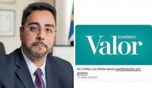 Bretas cobra correção de matéria tendenciosa que tenta ligá-lo a Bolsonaro