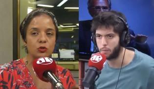 Caio Coppolla enfrenta com brio a arrogância de Vera Magalhães (veja o vídeo)