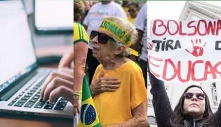 Humilhação nas redes: atos pró-reformas são quase 10 vezes maiores que atos das esquerdas