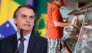 Jair Bolsonaro comenta e desvenda os motivos da falta de comida em Cuba