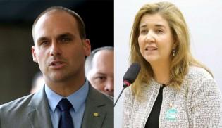 Advogada que ficou em 1º na lista tríplice do TSE recebe recado de Eduardo Bolsonaro (Veja o Vídeo)