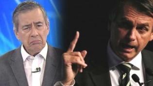 """A última polêmica de Paulo Henrique Amorim: A """"Praga"""" contra Jair Bolsonaro (Veja o Vídeo)"""