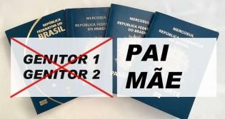 """Passaporte voltará a adotar os termos """"Pai"""" e """"Mãe"""" no lugar de """"Genitor 1"""" e """"Genitor 2"""""""