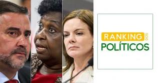 O melhor colocado do PT está na 335ª posição em ranking que mede desempenho de políticos