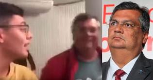 Jovem desmascara o pior governador do Nordeste em pleno aeroporto de Brasília (Veja o Vídeo)