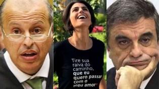 Advogados famosos para a ex-candidata a vice desempregada. Quem paga?