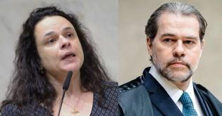 """Janaina protocola pedido de impeachment de Toffoli por decisão """"criminosa"""""""