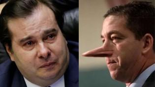 "Maia descobre amargamente o ""canalha"" que é Greenwald"