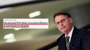 Manchete de O Globo demonstra que a grande imprensa é inimiga do Brasil
