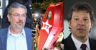 O caixão está fechando para o PT: Palocci delata repasse de R$ 2 milhões à campanha de Haddad