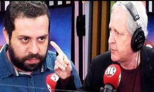 O embate entre a decência de Augusto Nunes e o mau-caratismo de Guilherme Boulos (Veja o Vídeo)