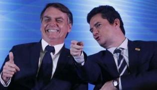 """A falácia sobre a """"crise"""" entre Bolsonaro e Moro e a real intenção da extrema-imprensa"""