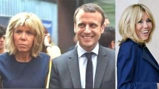 A hipocrisia dos justiceiros sociais: idiotas utilizam fotos tratadas de Brigitte Macron para condenar quem ouse não achá-la bonita