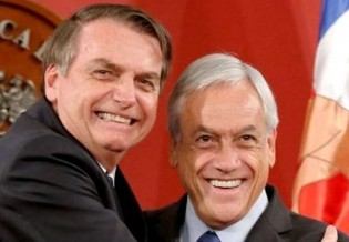 Em demonstração de lealdade, presidente do Chile, após participar do G7, traz ótimas notícias para Bolsonaro (Veja o Vídeo)
