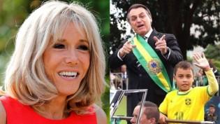 A reação desproporcional entre o que Bolsonaro disse sobre Brigitte e o que a Globo fez com o menino do desfile