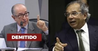 Paulo Guedes demite secretário da Receita por divulgar informações não oficiais