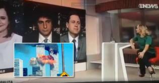 A piada infame da Globo sobre o 11 de setembro. Imaginem se fosse Bolsonaro... (veja o vídeo)