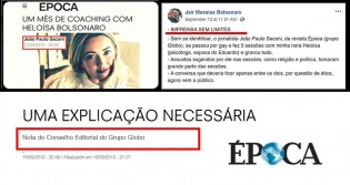 Rede Globo finalmente se penitencia pela barbárie cometida e pede desculpas a Heloísa Bolsonaro