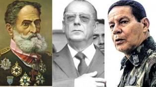 Os militares na política, de Deodoro a Mourão