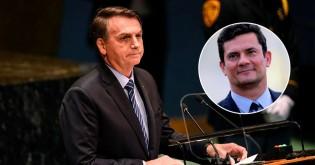 Na ONU, Bolsonaro derruba narrativa da mídia sobre atritos e enaltece Moro para o mundo (Veja o Vídeo)