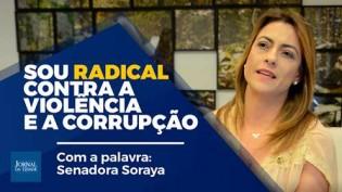 """Senadora Soraya Thronicke abre o verbo: """"Somos radicais sim, contra a violência e a corrupção"""" (Veja o Vídeo)"""