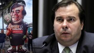 "Rodrigo ""Botafogo"" Maia, repete Gilmar para atacar insanamente o ministro Sérgio Moro"