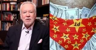Alexandre Garcia foi testemunha do episódio dos dólares na cueca e revela detalhes inéditos (Veja o Vídeo)