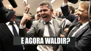 """Bolsonaro paga pra ver e aciona AGU contra deputado Waldir: """"Quem vai implodir quem?"""""""
