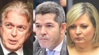 Bivar, Delegado Waldir e Joice, figuras fajutas e abjetas, que surfaram e pegaram carona na onda Bolsonaro