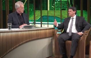 """Ministro Tarcísio dá resposta fenomenal sobre o seu """"futuro político"""" e deixa Bial emudecido (Veja o Vídeo)"""