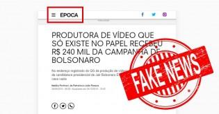 "Época, a revista da Globo, é condenada por ""fake news"" contra Bolsonaro"