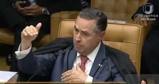 Barroso desmonta falácia que culpa prisão em segunda instância por superpopulação carcerária (veja o vídeo)