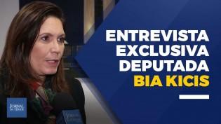 """""""Aqui não, essa terra tem presidente, tem um povo que é soberano"""", ressalta Bia Kicis (Veja o Vídeo)"""