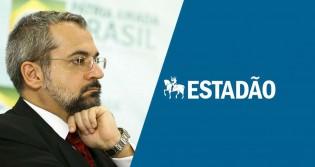 Ministro da Educação ridiculariza editorial do Estadão que pede sua demissão