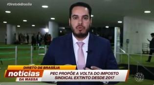Deputado Paulo Eduardo Martins desabafa sobre o possível retorno do imposto sindical (veja o vídeo)