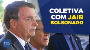"""""""Há um esforço de todos os ministros de resgatar nosso Brasil, porque a tendência era o caos"""", diz Bolsonaro (veja o vídeo)"""