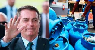Para baixar o preço do gás, Bolsonaro quer criar centrais de enchimento nos estados