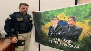 O último vídeo do PRF que morreu atropelado, quando atendia uma ocorrência, é compartilhado por Bolsonaro (veja o vídeo)