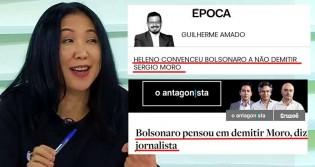 Sem escândalos de corrupção, jornalistas agora leem pensamentos de Bolsonaro