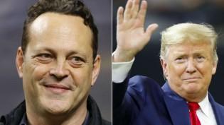"""Imprensa esquerdista dos EUA incita ódio contra ator que cumprimentou Trump, """"devemos odiar Vince Vaughn"""" (veja o vídeo)"""