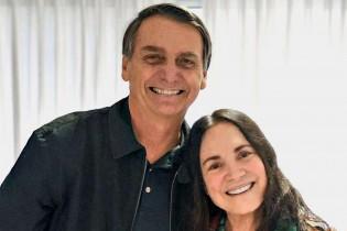 O factóide de que Bolsonaro convidou Regina Duarte para acalmar conflitos com a Globo