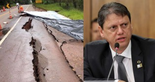 Ministério da Infraestrutura trabalha a todo vapor para consertar danos das chuvas nas estradas de MG e ES