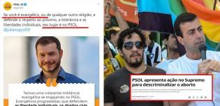 PSOL, que defende descriminalizar o aborto e a maconha, diz ter crescente militância evangélica