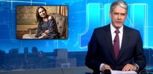 Globo não perdoa e Bonner anuncia ao vivo fim de contrato com Regina Duarte (veja o vídeo)